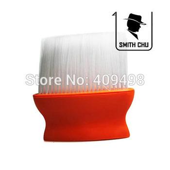 black orange salon barber hair cleaning brush neck sweeper 5pcs/lot