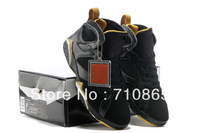 Free Shipping VII 7 Retro GMP Golden Moment Gold Medal Pack Black Gold Mens Basketball Sneaker Shoes