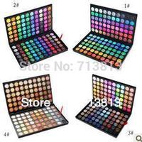 Freeshiping Pro 120 Color Eyeshadow Palette Fashion Eye Shadow Makeup 4 style