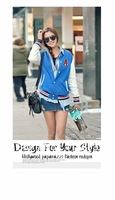 free shipping 2,620 Korean ladies ' new 2012 autumn tides leisure baseball jacket coat