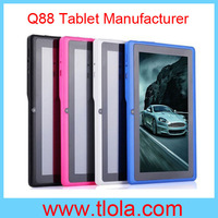Wholesale Cheap A13 Tablet Dual Camera with Capacitive Screen Android 4.0 WIFI Nice Gift for Kids Free Shipping