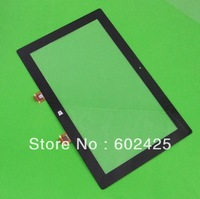 Free shipping Brand NEW For Microsoft Surface RT(32GB/ cover) Touch Screen glass LENS Digitizer