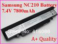 Новый Замена 6Cell Аккумулятор для Ноутбука SAMSUNG NP-NC110 NC210 NC208 NC215 AA-PBPN6LB AA-PBPN6LS AA-PBPN6LW Серии +