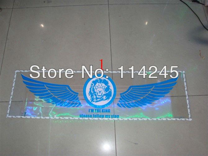 2014 nova música Som Auto 90CM * 25CM ativado equalizador brilhar Flash Kit luz adesivos de carro subwoofer Música lâmpada ritmo(China (Mainland))