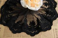 2013 new clothes accessories applique lace Black 14CM