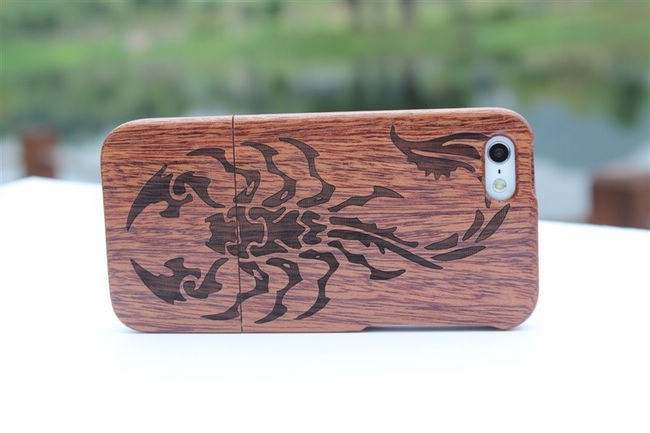 Free shipping wholesale New Genuine Real Natural Bamboo Wood Hard Back Wooden Case Cover for iphone5 5G 20colors(China (Mainland))