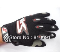 Motorcycle Bike full finger Protective Racing Gloves Size Freeshipping