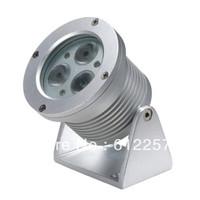 LED outdoor spot light, IP65,12V/DC,RGB(3in1) LED spotlight LED-SP-B1-3x3W(3in1)-12V