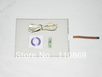 "New 15.1 Inch 5Wire Resistive Touch Screen Panel Kit USB Controller for 15""LCD 332*248mm free shipping"