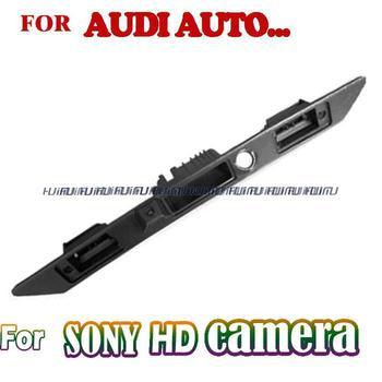 wireless wire HD rear camera waterproof  night vision for sony ccd audi A6L/Q7/A4/A3 A8L A8 trunk handle camera parking assist