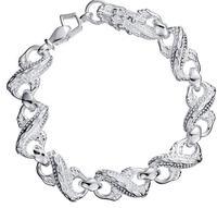Free  shipping    Male bracelet 925 sterling silver jewelry new