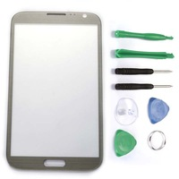 Glass Lens for Samsung Galaxy Note 2 GT-N7100 +Tools GRAY