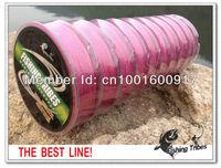 freen shipping wholesale PE braided fishing line dyneema red 100m/10pcs 10Lb 20Lb 30Lb 40Lb 50Lb 60Lb 80Lb 100Lb