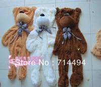 140cm three colors teddy bear coat   lowest price of the whole network can be customized birthday gifts Christmas gifts   gift