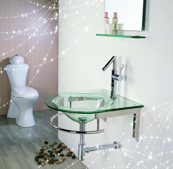 Online Toptan Alım yapın cam lavabo banyo Çinden cam lavabo banyo Toptan -> Cuba Para Banheiro Cristal