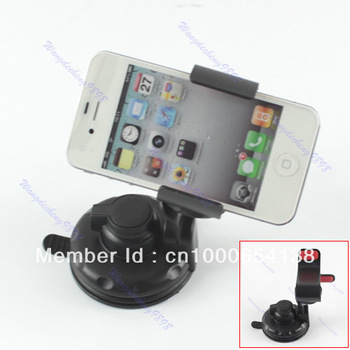 Free Shipping Universal Cradle Bracket Clip Car Mount Stand Holder for Mobile Phone MP4 GPS PSP PDA
