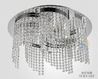 Free  shipping +Restaurant lights modern crystal chandelier living room lights dining room CL9118