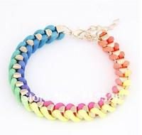 Color making rope bracelet&bangle