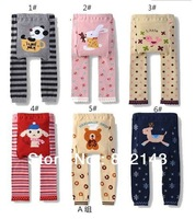 18 pcs/lot Free Shipping Children Kids PP Pants Long Trousers Cartoon Legging Cotton Baby Boys Girls Wear NEW Design