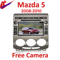 For Mazda 5 2008-2010 HD Can-bus car radio dvd player with GPS navigation touch screen free camera