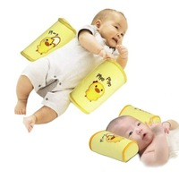 Safe Cotton Anti Roll Pillow for Baby Toddler Sleep free shipping