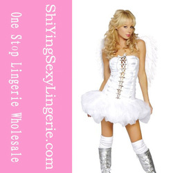 Angel Wear, Sexy Angel Dress, Charming Girl Angel Costume LC8335+ Cheaper price + Free Shipping Cost + Fast Delivery(China (Mainland))