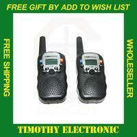 Hot! Free shipping 0.5W UHF Auto Multi-Channels 2-Way Radios Walkie Talkie interphone T-388  2 Pcs/LOT #EC010