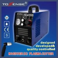 Tosense 110V/220V 55A plasma cutter machine with consumables ICUT55
