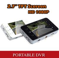 "Vehicle Car DVR Recorder Camera Road Safety Guard 2.7"" TFT LCD Screen Infrared night vision"
