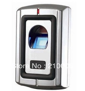 Stainless Steel biometric fingerprint RFID access control with IR Remote 160 fingerprint, 2000 cards(China (Mainland))