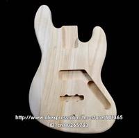 platane wood  electric bass body electric bassr kit kits platane wood PJ-BASS style