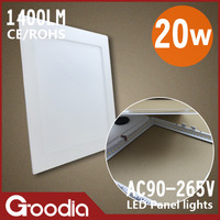 20w led lighting panel,225*225mm,AC85~265V,90pcs 2835SMD,Cool white/Warm white,20W  led wall light,free shipping