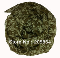 Free shipping Women's fashion Shawl /Sarong /printed scarf,1pc MOQ,2012 hair clips pattern,110*180cm