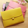 For New ipad 3 Leather Pouch Bag  Leather Sleeve Case For New ipad 3 / ipad2 / ipad Tablet Case Free Shipping