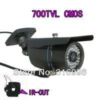 High tech 700TVL CMOS 6mm Lens 100ft IR-CUT D/N CCTV Security Camera Video Outdoor AC18-7G