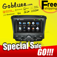 Gobluee Free shipping & Special Car DVD player for ROEWE 350 / MG 350 head unit audio with USB GPS navigation Radio Bluetooth