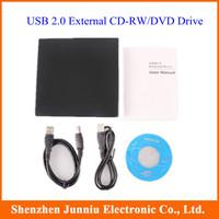 USB 2.0 Slim External DVD ROM CD-RW Combo Drive Writer Free Shipping
