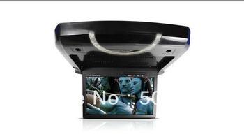 Roof Mount DVD Player CL-913B-DVD  9inch super slim car filp down DVD player
