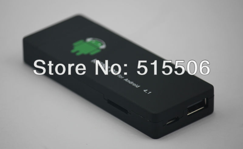 MK802 dual core android 4.1 mini pc google tv box android dongle latest version Free Shipping(China (Mainland))