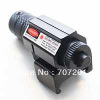 Promotions! 50pcs Tactical Compact Red Laser Sight with Weaver Mount Rail,free shipping
