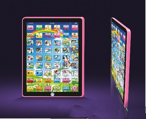 Russian/English Free shipping Ipad3 tablet computer learning machine Version kid learning toy