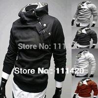 Rabbit Fur Metal Buckle XXL Hoodies Men Brand Long Sleeve Hooded Fleece Thick Autumn Casual Plus Size Man Hoody 8.19 Sale
