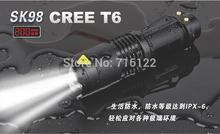 Lanternas Led CREE 10W XM L T6 Mini Flashlight Linternas 2000 Lumens Zoom In & Out Lights Searchlight Flash Lights(China (Mainland))