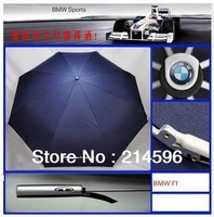 2013 New Arrival High Quality Compact auto-open(close) umbrella Triple Folding Umbrella /for BMW Umbrella Free Shipping