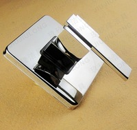 Free shipping!Square Solid brass chrome In wall Bathroom shower Panel Handle.Control switch valve.Bathroom Faucet Accessories