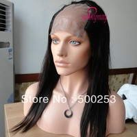 "Sunnymay Custom Straight  Virgin Brazilian Human Hair 4""*4"" Full Lace U- Shaped Wigs"