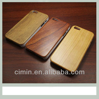 Creative Design Real PC Bamboo&Wood hard case cover for iphone 5 5g back with PC frame ,Retail box+ultra slim+free shipping