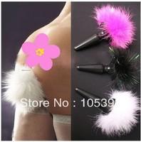 wholesale wild 3.5*10cm stimulator anal rabbit tail anal plug butt plug anal sex toy for women adult toy B31