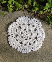 """wholesale 4"""" Handmade Crochet doily Cup Coaster, garment ornaments  hand crochet appliques cotton patches 100pcs/lot"""