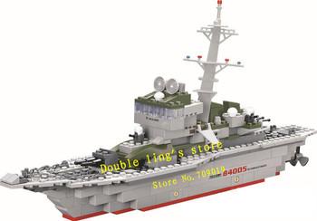 The designer enlighten child 84005 Educational military set kazi blocks/toy blocks plastic educational building free Shipping